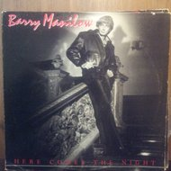 BARRY MANILOW  HERE COMES THE NIGHT LP